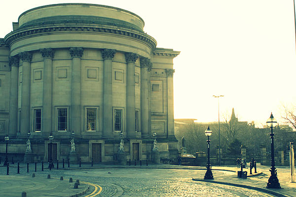 St Georges Hall Liverpool Print by Nomad Art And  Design