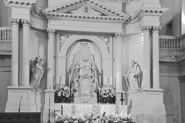 Helen Haw - St. Louis Cathedral Altar
