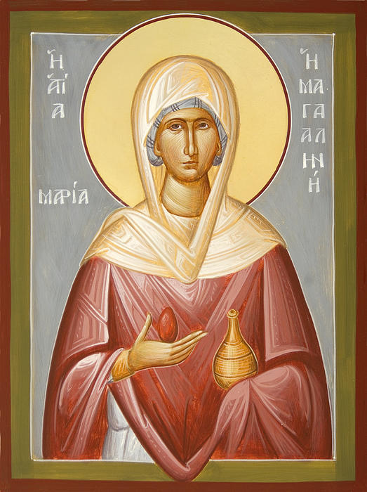 St Mary Magdalene Print by Julia Bridget Hayes