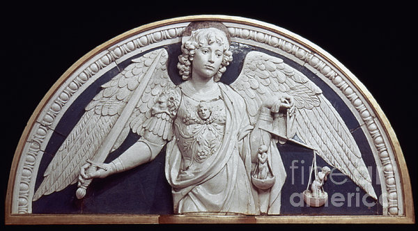 St. Michael The Archangel Print by Granger