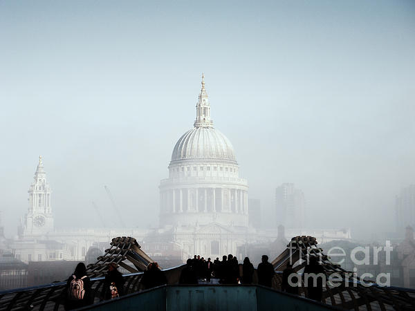 St Paul's Cathedral Print by Pixel  Chimp