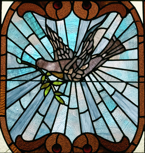 Stained Glass Lc 14 Print by Thomas Woolworth