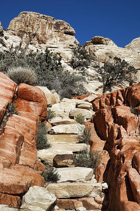 Staircase Stones Print by Kelley King
