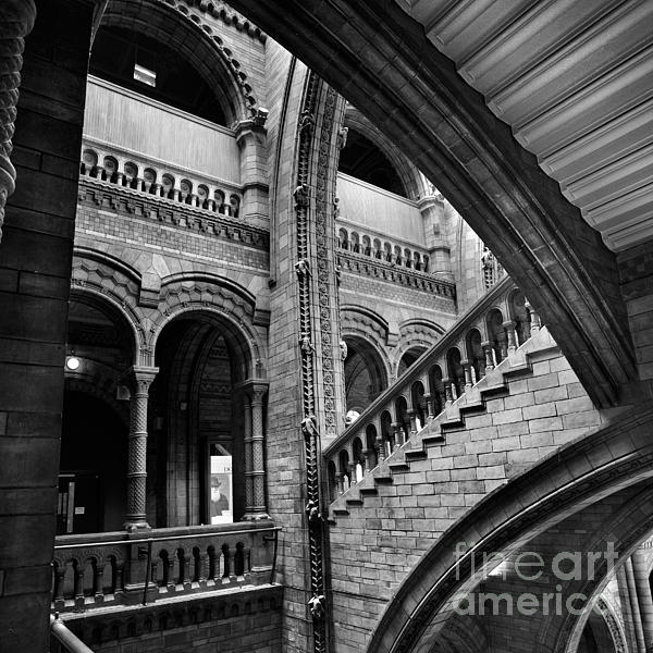 Stairs And Arches Print by Martin Williams