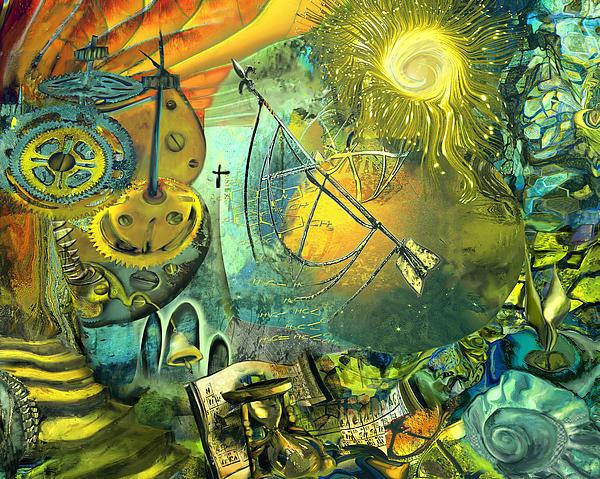 Stairway To Heaven Print by Anne Weirich