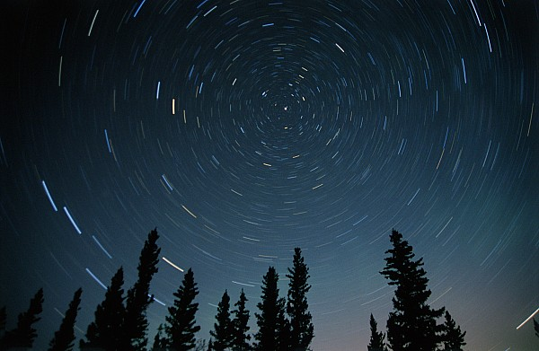Star Trails, Sandilands Provincial Print by Mike Grandmailson