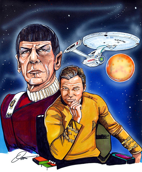 Star Trek Print by Dave Olsen