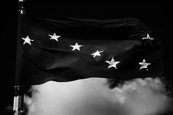 Starry Plough Flag Irish National Liberation Army Inla Ireland Print by Joe Fox