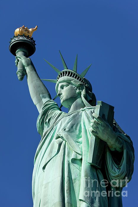 Statue Of Liberty Print by Brian Jannsen