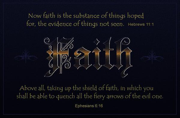Steadfast Faith Print by Greg Long