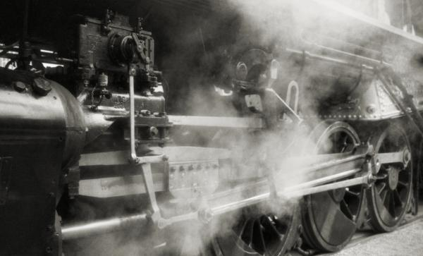 Steam Power Print by Richard Rizzo
