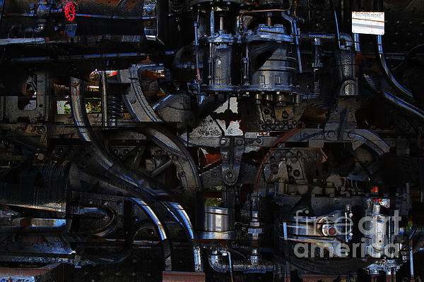 Steampunk Patent 1215 Prototype B Print by Wingsdomain Art and Photography