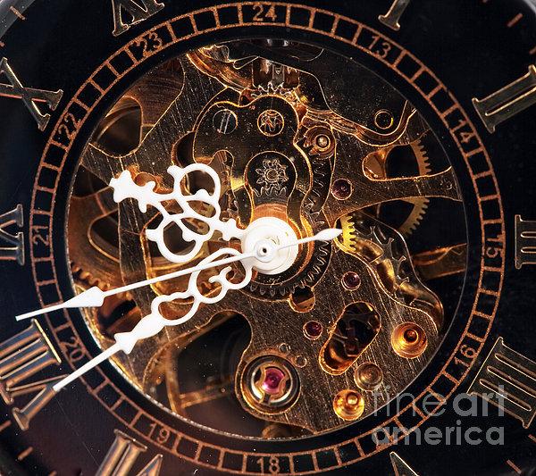 Steampunk Time Print by John Rizzuto