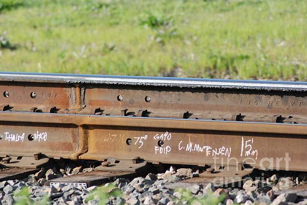 Steel Tracks Print by Mark McReynolds