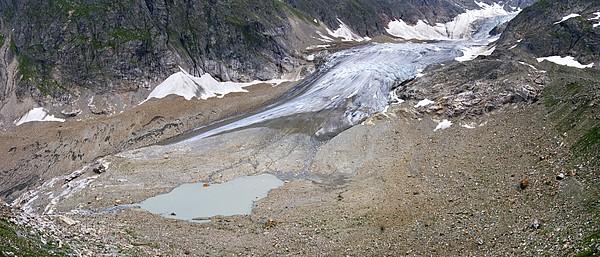 Stein Glacier, Switzerland Print by Dr Juerg Alean