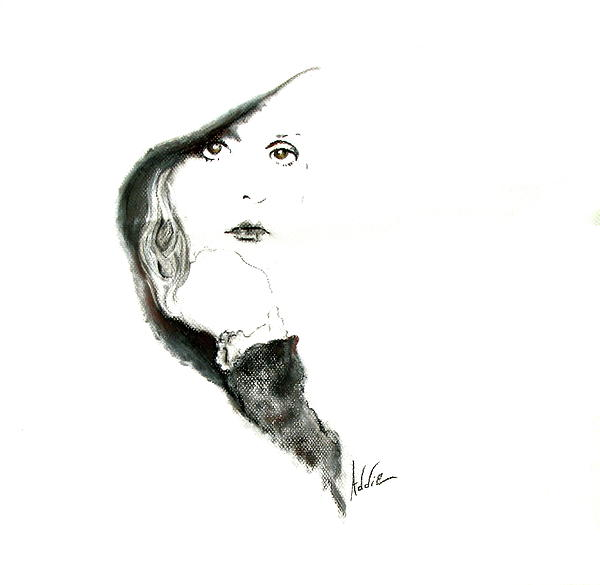 Stevie Nicks Drawing  - Stevie Nicks Fine Art Print