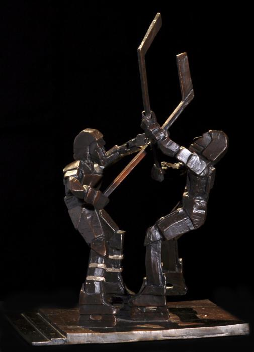 Stick Dance Print by Ken  Yackel