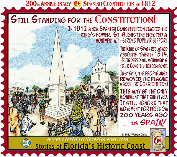 Still Standing For The Constitution Print by Warren Clark