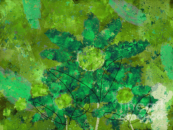 Stimuli Floral -s11bt01 Print by Variance Collections