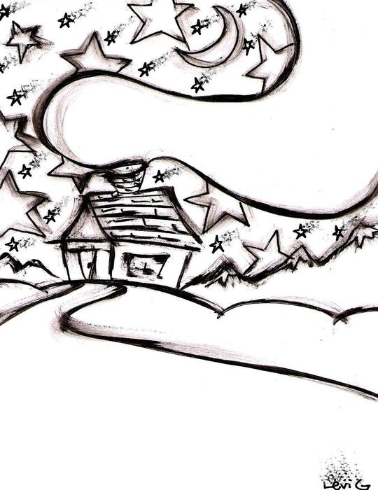Stitchlips House Drawing