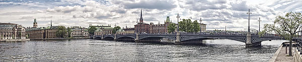 Stockholm Print by Mauro Celotti