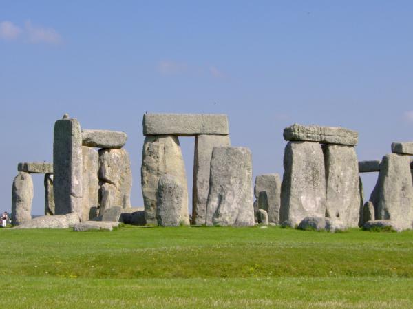 Stonehenge Morning Print by Bernadette Wulf