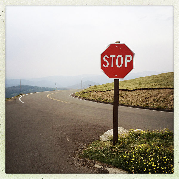Stop Sign Print by ©Natasha Japp Photography