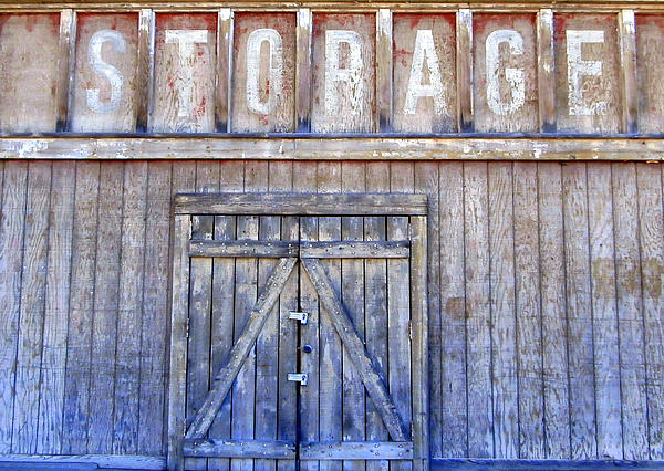 Storage - Architectural Photography Print by Karyn Robinson