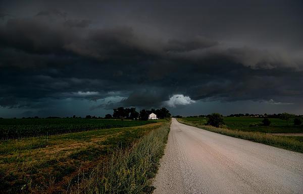 Storm Ahead Print by Rick Rauzi