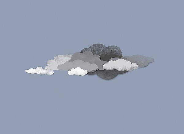 Storm Clouds Print by Jutta Kuss