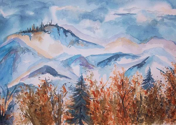 Ellen Levinson - Storm Clouds Over The Butte