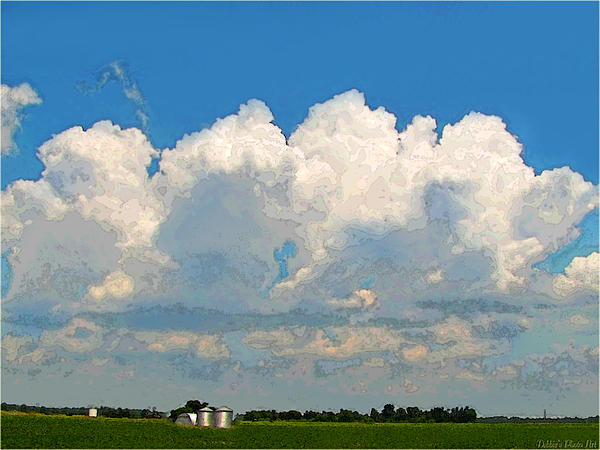 Debbie Portwood - Storm Clouds Rising II art