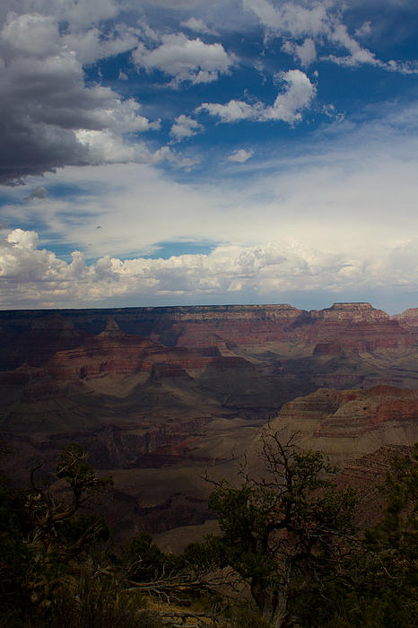 Elizabeth Heffner - Storm Over Grand Canyon