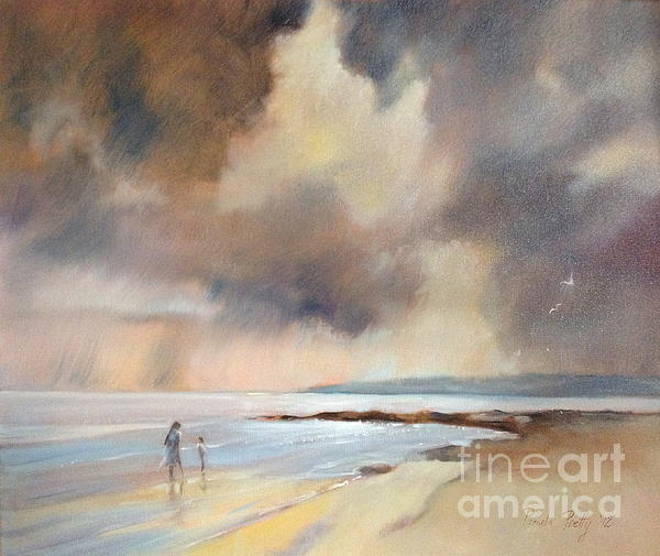 Storm Watchers Print by Pamela Pretty