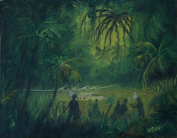 Strangers In Paradise Print by William Bezik