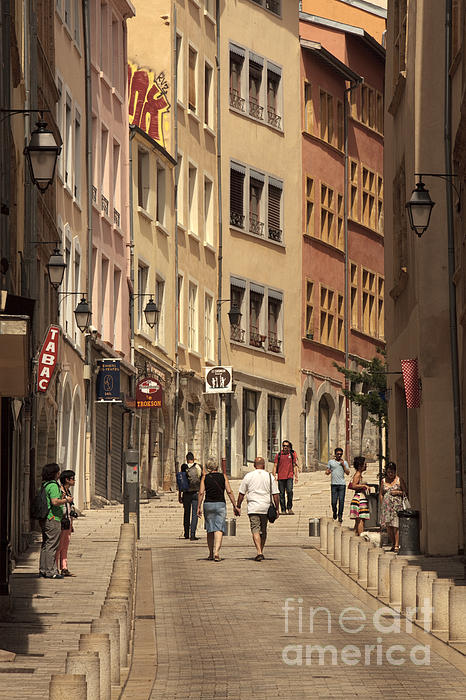 Igor Kislev - street in Lyon