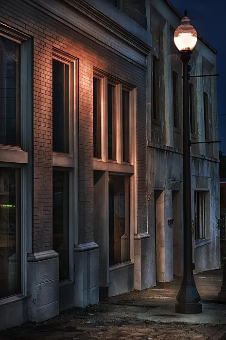 Street Light Print by Brenda Bryant