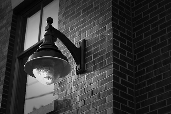 Streetlamp Print by Eric Gendron