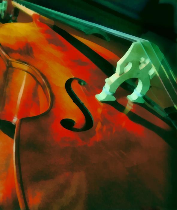Strings Print by Naman Imagery