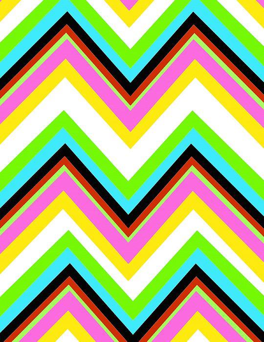 Stripe Print by Louisa Knight