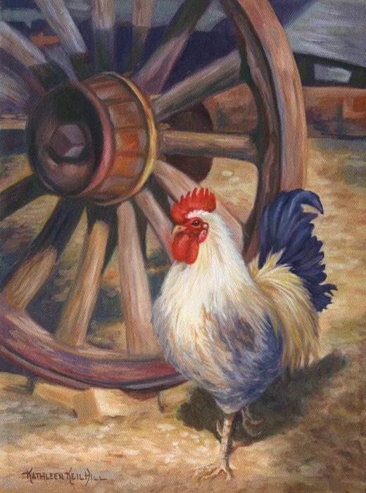 Struts Print by Kathleen  Hill
