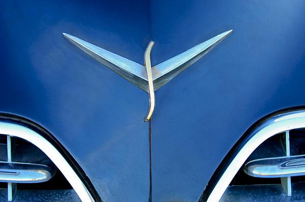 Studebaker Hood Emblem Print by Jill Reger