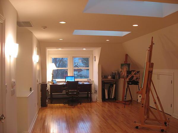 Ray Agius - Studio looking North.
