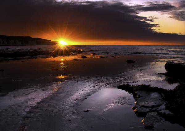 Stunning Sunrise Print by Svetlana Sewell