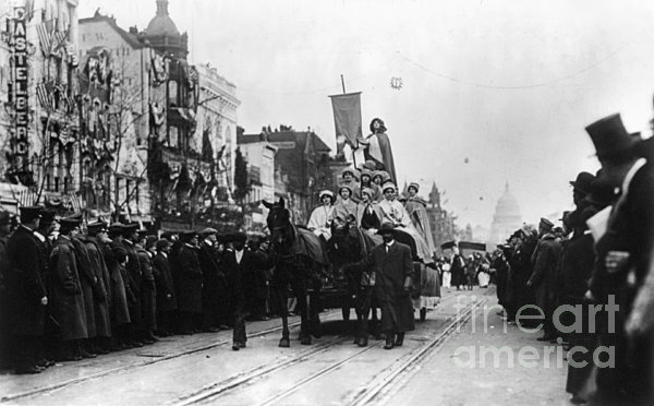 Suffrage Parade, 1913 Print by Granger