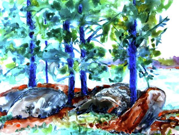 Jan Bennicoff - Summer by the Lake