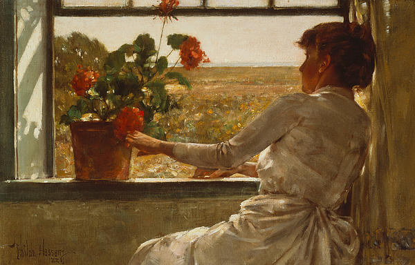 Summer Evening Print by Childe Hassam