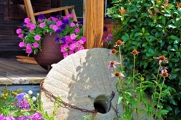Summer Millstone Print by Jan Amiss Photography