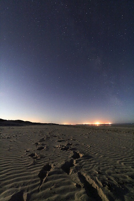 Summer Night Sky Print by Laurent Laveder
