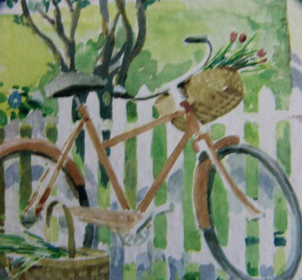 Summer Ride Print by Florene Welebny